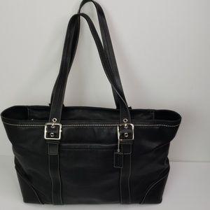 Coach tote style handbag